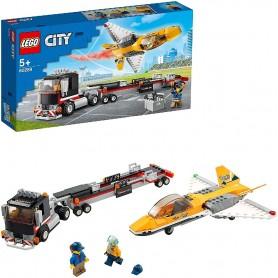 CAMIÓN DE TRANSPORTE DEL REACTOR ACROBÁTICO - LEGO CITY 60289