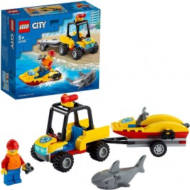 QUAD DE RESCATE COSTERO - LEGO CITY 60286