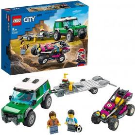 FURGONETA DE TRANSPORTE DEL BUGGY DE CARRERAS - LEGO CITY 60288