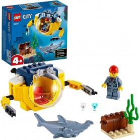 OCÉANO: MINISUBMARINO LEGO CITY 60263