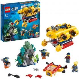 OCÉANO: SUBMARINO DE EXPLORACIÓN - LEGO CITY 60264