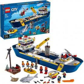 OCEANO: BUQUE DE EXPLORACIÓN - LEGO CITY 60266