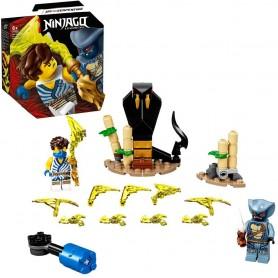 SET DE BATALLA LEGENDARIA: JAY VS. SERPENTINE - LEGO NINJAGO 71732