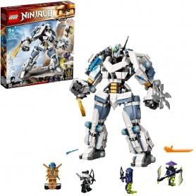 COMBATE EN EL TITÁN ROBOT DE ZANE - LEGO NINJAGO 71738