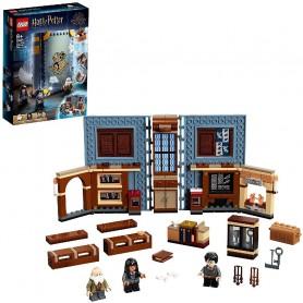 MOMENTO HOGWARTS: CLASE DE ENCANTAMIENTOS - LEGO HARRY POTTER 76385