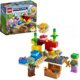EL ARRECIFE DE CORAL - LEGO MINECRAFT 21164