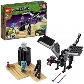 LA BATALLA EN EL END - LEGO MINECRAFT 21151