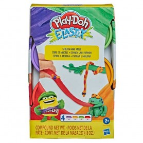 PLAY-DOH ELAXTIX PACK 4 (SELVA)