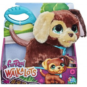 FURREAL MASCOTA WALKALOTS PERRO MARRON