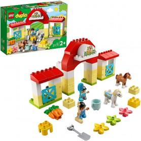 ESTABLO CON PONIS LEGO DUPLO 10951