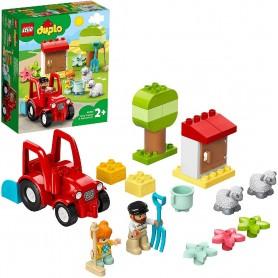TRACTOR Y ANIMALES DE LA GRANJA LEGO DUPLO 10950