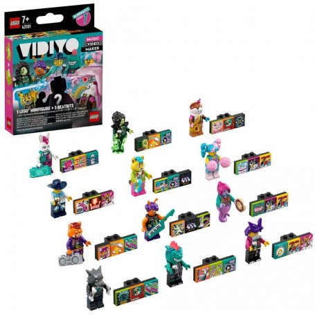 MINI FIGURA VIDIYO BANDMATES SERIE 1 LEGO 43101