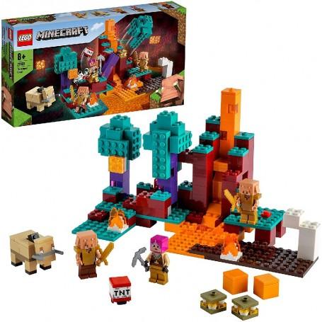 EL BOSQUE DEFORMADO - LEGO MINECRAFT 21168