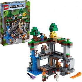 LA PRIMERA AVENTURA - LEGO MINECRAFT 21169