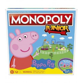 JUEGO MONOPOLY JUNIOR PEPPA PIG