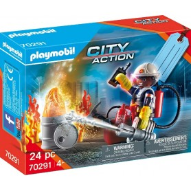 SET BOMBEROS - PLAYMOBIL 70291 CITY ACTION
