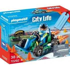 SET GO-KART - PLAYMOBIL 70292 CITY LIFE