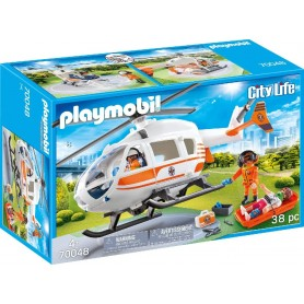 HELICOPTERO DE RESCATE 70048 PLAYMOBIL