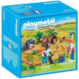 RECINTO ANIMALES GRANJA CONEJOS 70137 PLAYMOBIL COUNTRY