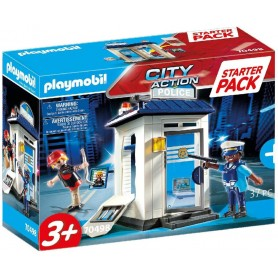 STARTER PACK POLICIA - PLAYMOBIL 70498 CITY ACTION
