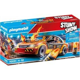 STUNTSHOW CRASHCAR - PLAYMOBIL 70551
