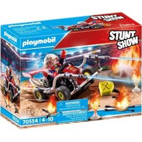 STUNTSHOW KART BOMBERO - PLAYMOBIL 70554