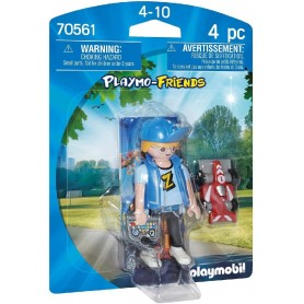ADOLESCENTE CON COCHE RC - PLAYMOBIL 70561