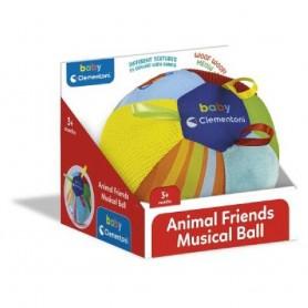 PELOTA ELECTRÓNICA MUSICAL ANIMAL FRIENDS