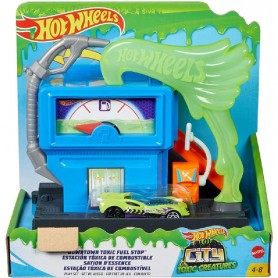 HOT WHEELS - LA GASOLINERA TOXICA
