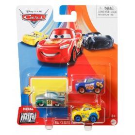 CARS - MINI RACERS METAL PACK DE 3 (RCF)