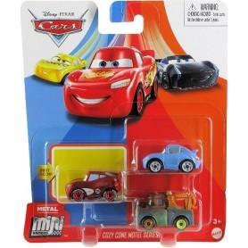 CARS - MINI RACERS METAL PACK DE 3 (RMS)