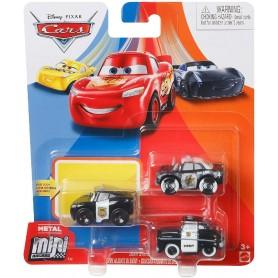 CARS - MINI RACERS METAL PACK DE 3 (AGENTES)