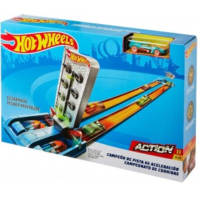 HOT WHEELS - PISTA CAMPEON DE VELOCIDAD - DRAGSTRIP CHAMPION