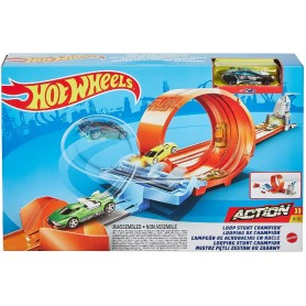 HOT WHEELS - PISTA LOOPING DE ACROBACIAS CHAMPION