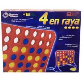 JUEGO 4 EN RAYA