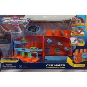 MICRO MACHINES EXPANDING PLAYSET - CAR WASH