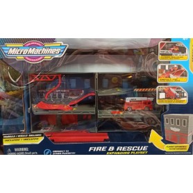 MICRO MACHINES FIRE & RESCUE EXPANDING PLAYSET