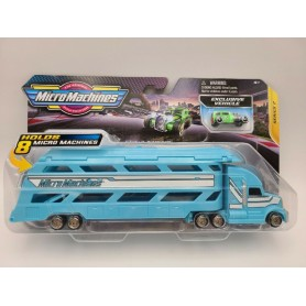 MICRO MACHINES MINI VEHICLE HAULER SERIES 2 BLUE