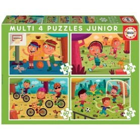 MULTI PUZZLE 4 JUNIOR (20-40-60-80) DEPORTES