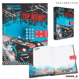 DIARIO CON CÓDIGO SECRETO, MONSTER CARS