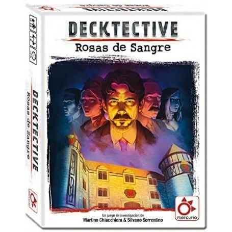 JUEGO DECKTECTIVE - ROSAS DE SANGRE