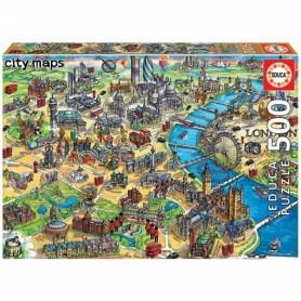 "500 MAPA DE LONDRES ""CITY MAPS"""
