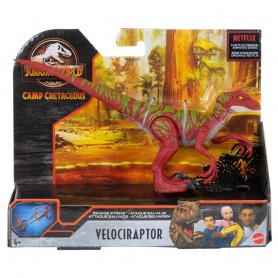 JURASSIC WORLD SAVAGE STRIKE JUMPING VELOCIRAPTOR