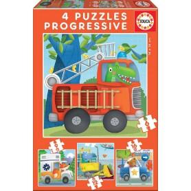 PUZZLE 6-9-12-16 PATRULLA DE RESCATE