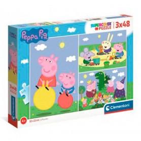 PUZZLE PEPPA PIG 3X48