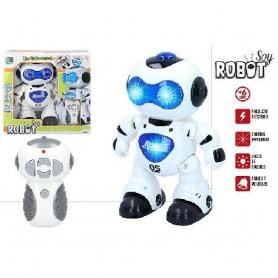 ROBOT RADIO CONTROL CB TOYS CON LUZ Y SONIDO + 6 A