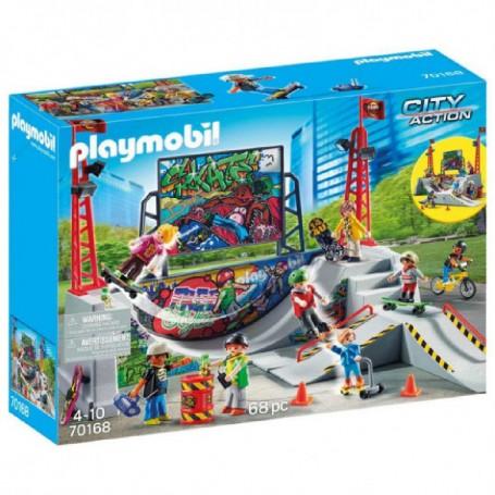 PLAYMOBIL CITY ACTION SKATE PARK 70168