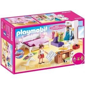 PLAYMOBIL DOLLHOUSE DORMITORIO 70208