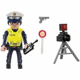 PLAYMOBIL SPECIAL PLUS POLICIA CON RADAR 70305