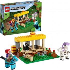 LEGO MINECRAFT - EL ESTABLO DE LOS CABALLOS 21171